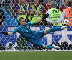 Akinfeev has extended his contract with CSKA Moscow. AFP