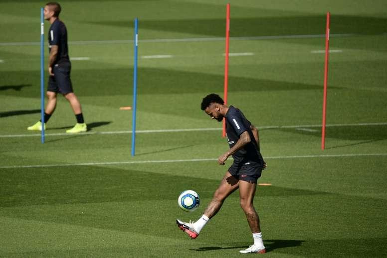 Neymar set to return for Brazil v Colombia - Tite. AFP
