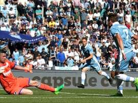 La Lazio tiene un gran balance en casa ante la Sampdoria. AFP
