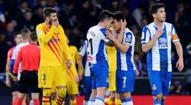 O chinês não quer sair do Espanyol. AFP