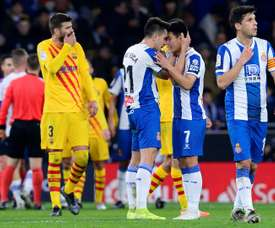 Espanyol could be relegated on Wednesday. AFP