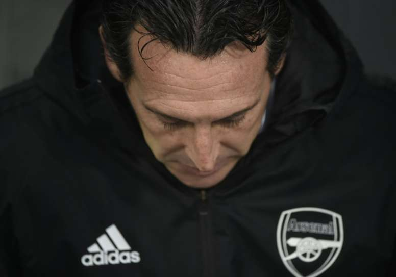 Unai Emery has officially been sacked by Arsenal. AFP