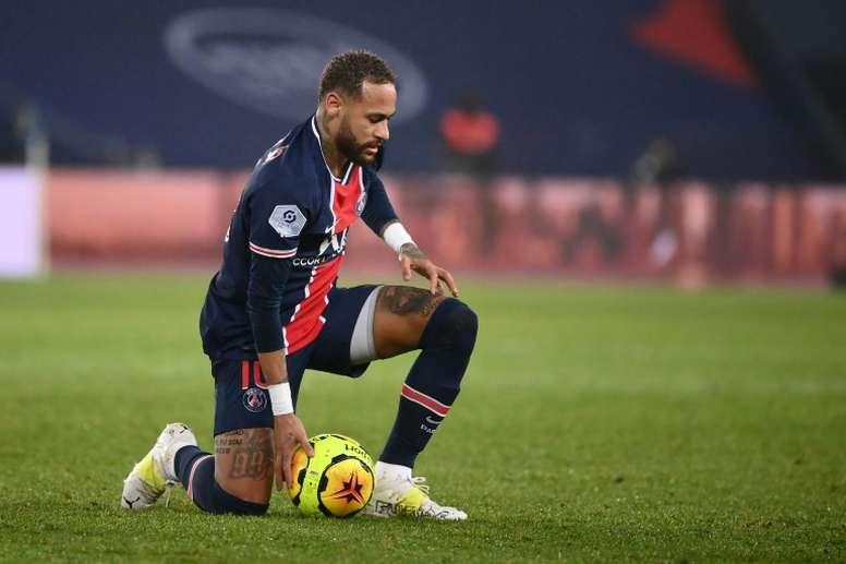 Le PSG passe la seconde pour Neymar. afp