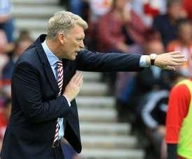 David Moyes respira. AFP