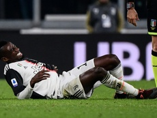 Matuidi is out. AFP