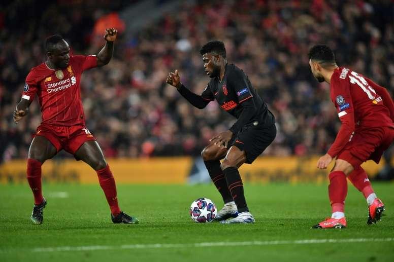 Thomas jugará en el Arsenal este curso. AFP
