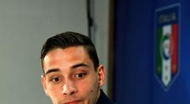 De Sciglio se acerca a la Juventus. AFP/Archivo