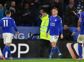 Klopp vise un joueur de Leicester. afp
