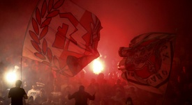 Partizan beat Red Star in the Serbian Cup. AFP