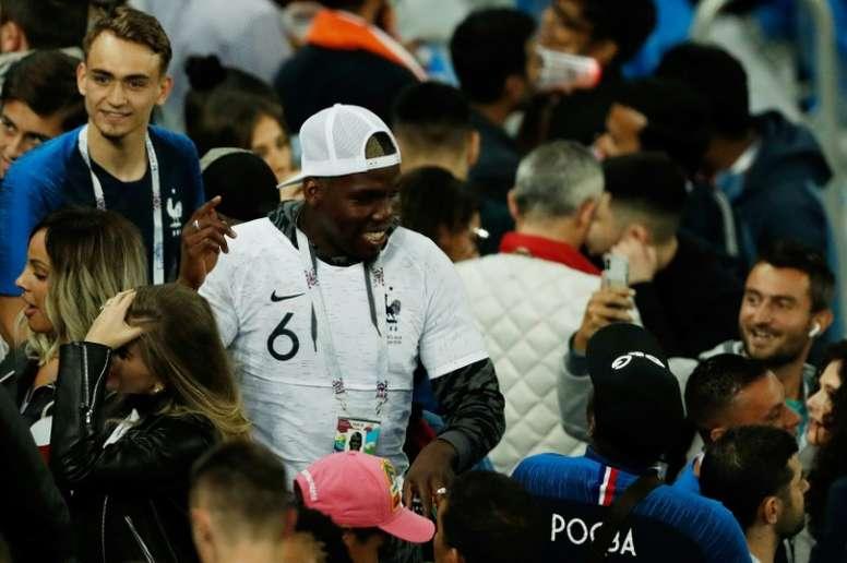 Mathias Pogba ne se préoccupe pas de l'avenir de son frère Paul. AFP