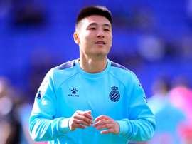 Wu Lei veut continuer à l'Espanyol. afp