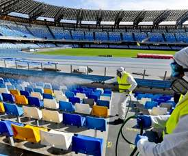 Italy considering cancelling Serie A due to coronavirus outbreak. AFP