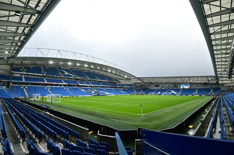 Brighton are offering fans the chance to delay 2020/21 season ticket payment by three months. AFP