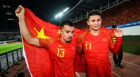 Samba-style China bank on Brazilians in World Cup push. AFP