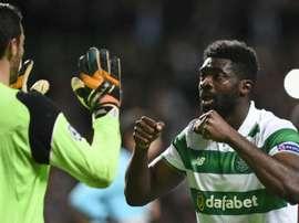 El Celtic goleó al Ross County y continúa líder. AFP
