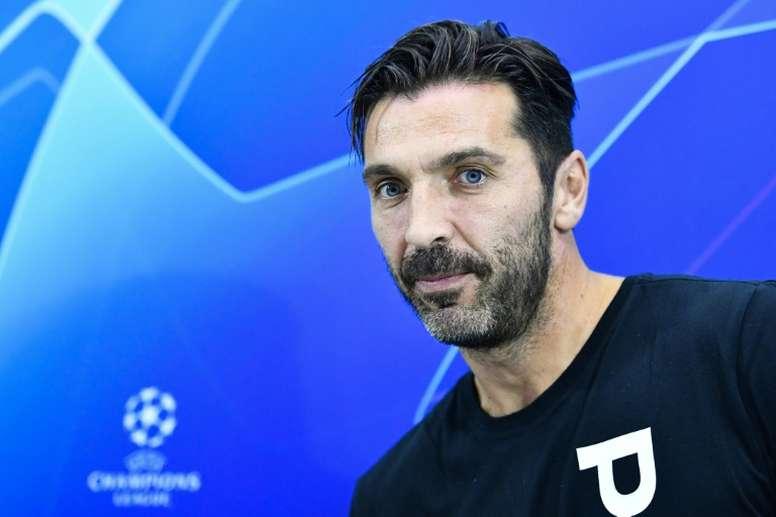 20 grandes jugadores a los que Buffon vio debutar y colgar las botas. AFP