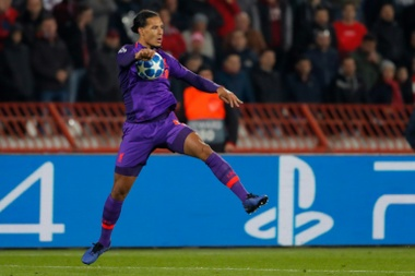 Virgil van Dijk warned against his side worrying about the form of champions Manchester City. AFP