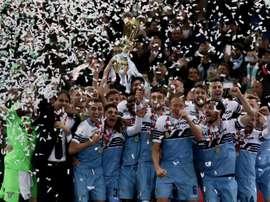 La Lazio a confiance en son projet. AFP