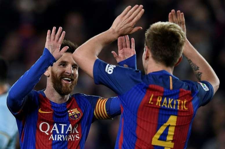 Rakitic espère avoir un rôle plus important au Barça. AFP