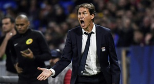 Rudi Garcia finally got a win for Lyon in his third game in charge. AFP