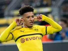 Sancho cost Borussia Dortmund a mere £8m. AFP