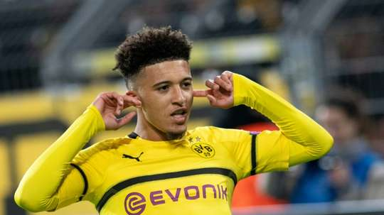 Jadon Sancho veut triompher en Allemagne. AFP