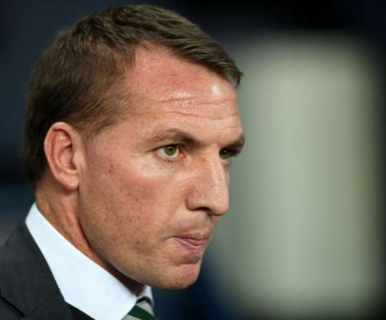Celtic's Brendan Rodgers defended his midfielder Bitton. AFP
