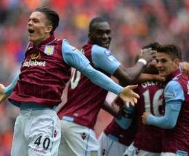 Aston Villa remporte la première manche. AFP/Archive