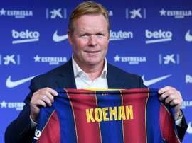 Koeman has a good record against Madrid. AFP