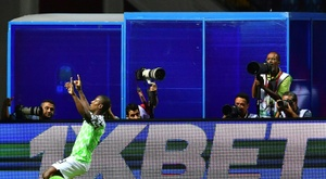 Odion Ighalo scored the winner from the bench. AFP