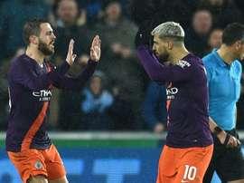Manchester City s'attend à un mois d'avril difficile. AFP