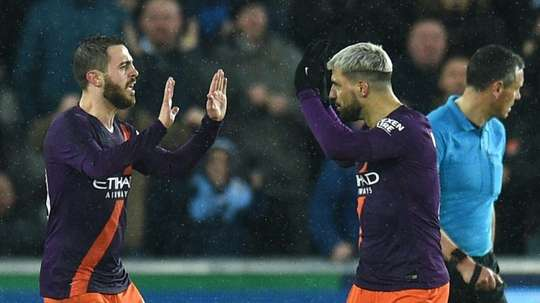 Manchester City s'attend à un mois d'avril difficile. AFP