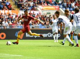 Cristante put Roma two goals to the good. AFP