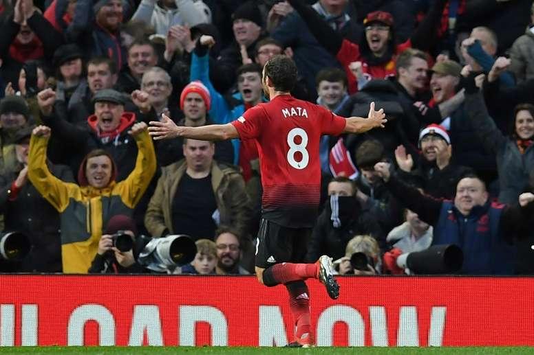 La mareante oferta que rechazó Mata para continuar en Old Trafford. AFP