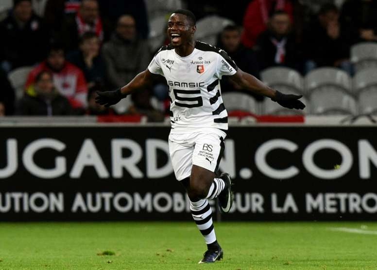 Ntep résilie son contrat avec Wolfsburg. AFP