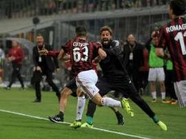 Cutrone anotó el gol de la victoria en el último partido. EFE