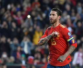 Ramos was praised by King after the pair's clash. AFP
