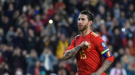 Sergio Ramos has drawn praise from teammates and manager alike. AFP