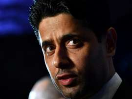 Al-Khelaïfi não tem dúvidas de que os rumores saem da Espanha. AFP