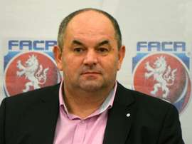 Czech Football Association President Miroslav Pelta