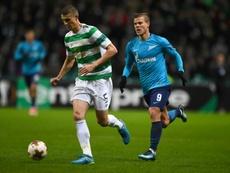 Simunovic, Hayes leave Celtic. AFP