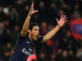 Paris Saint-Germains forward Edinson Cavani scored a brace against Nice on December 11, 2016