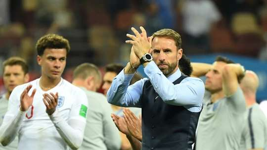 'Hugely excited' England boss Southgate cools Man Utd talk.