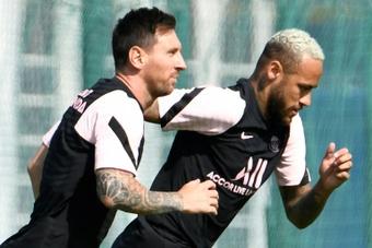 Messi ne figure pas dans le groupe parisien pour affronter Strasbourg. AFP
