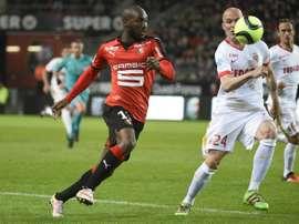 El Rennes anotó en los últimos minutos y privó al Mónaco de su ansiada segunda plaza. AFP