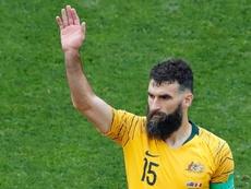 Ex-Australia and Crystal Palace captain Jedinak calls it a day. AFP