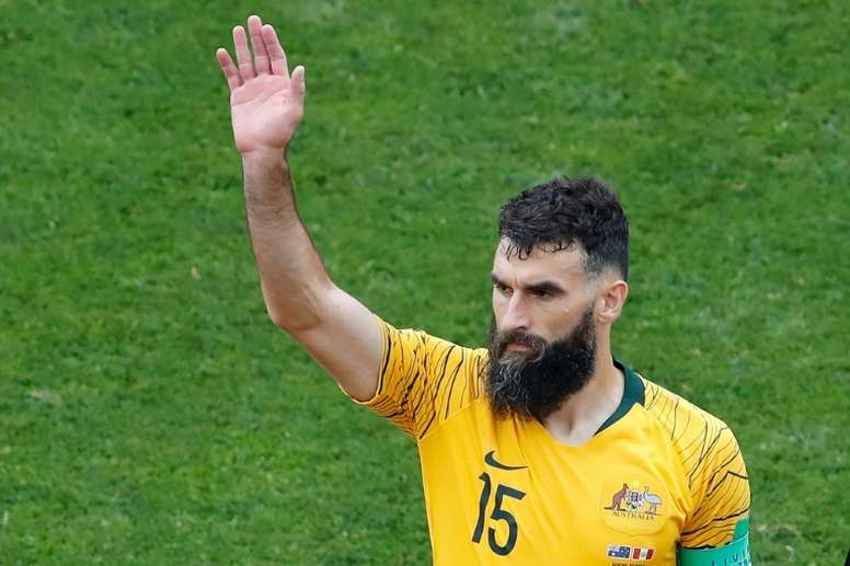 Ex-Australia and Crystal Palace captain Jedinak calls it a day. AFP