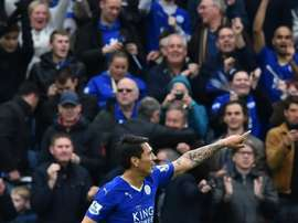 Ulloa lifted the Premier League trophy with Leicester last season. BeSoccer