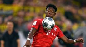 David Alaba avoue un intérêt pour Arsenal et la Premier League. AFP