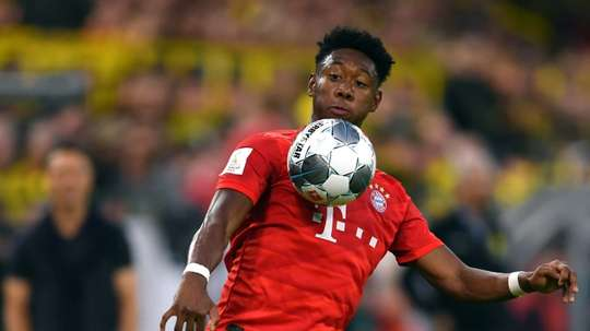Le Real Madrid devra passer son tour pour Alaba. AFP